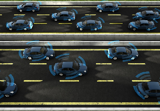Marking roads to make them safer for self-driving cars