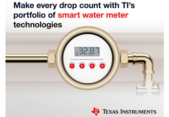 Ultrasonic MCUs are making electronic water meters smarter