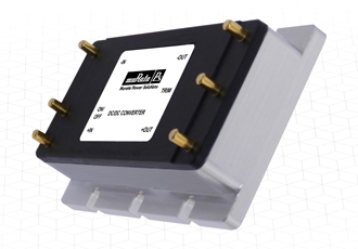 Encapsulated DC/DC converters for railway applications