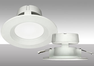 All-in-one recessed lighting solution for residential spaces