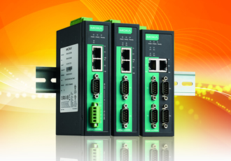 Device servers provide reliable serial-to-Ethernet connectivity