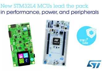 Low power MCUs offer top peripheral integration