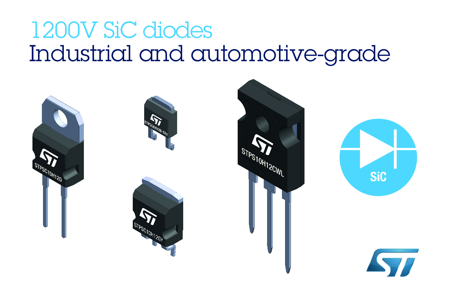 Diodes deliver superior efficiency and state-of-the-art robustness