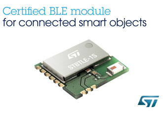 BLE processor accelerates time-to-market for connected smart objects