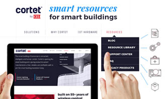 Guide for smart building management products provided by Cortet