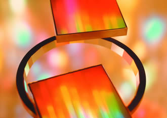 Holographic production method supports infrared materials