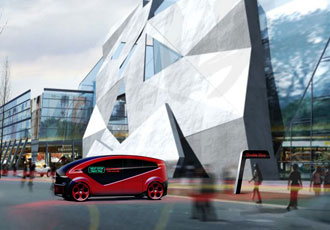 Beep beep! The smart city autonomous vehicle is coming through