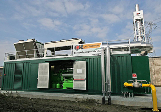 Biomass power station aims for zero carbon footprint
