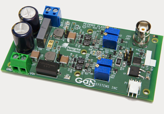 Evaluation kit contains power transistors and transistor drivers