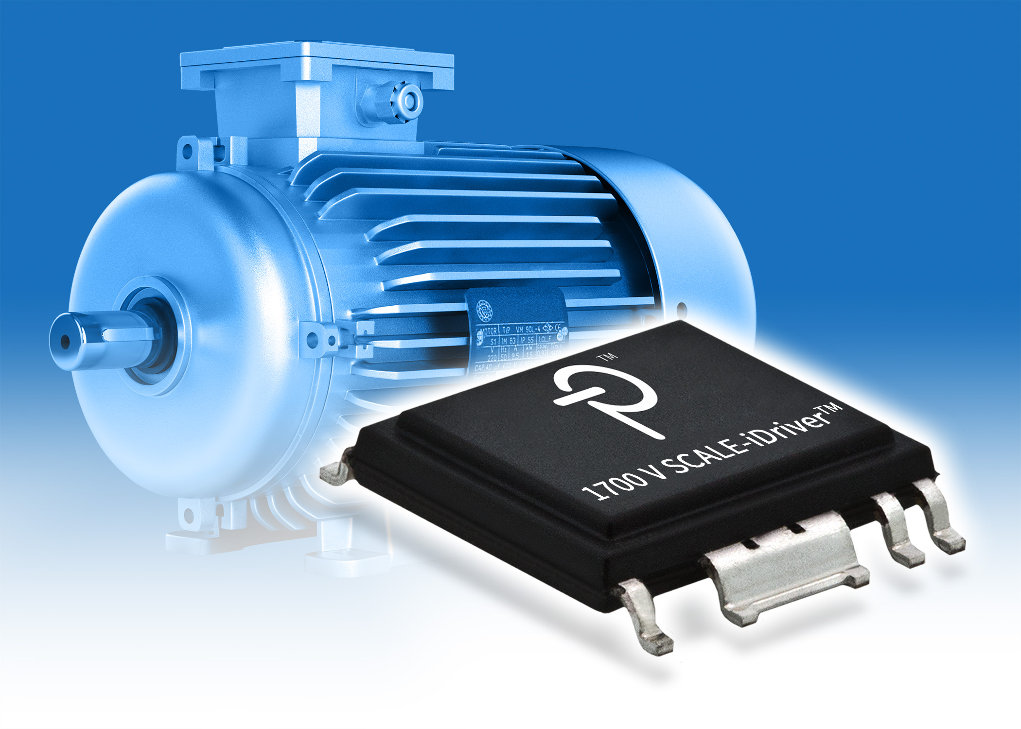 Gate driver IC supports and protect 1700V IGBTs