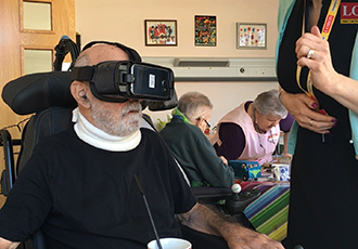 VR playing a vital role for terminally ill patients