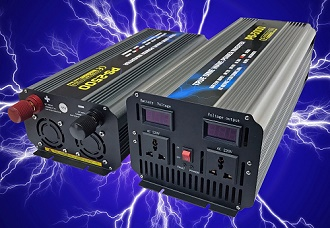 Pure sine wave output DC-AC inverters
