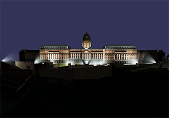 Hungary's largest ever projection mapping presentation