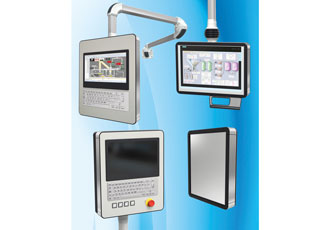 Display enclosures are IP65 rated