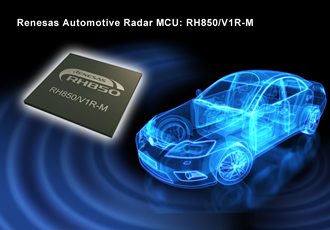 Automotive radar MCUs enable higher accuracy and safety