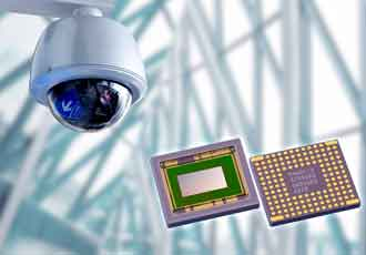 CMOS image sensor for 4K network security cameras