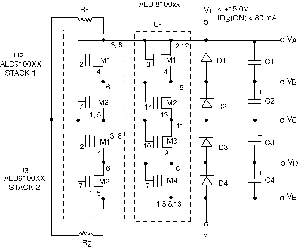 MOSFET boards balance supercapacitors