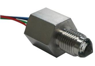 Heavy duty liquid level switch with glass sensor tip