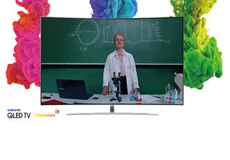 SeeColours App for QLED TV supports people with CVD
