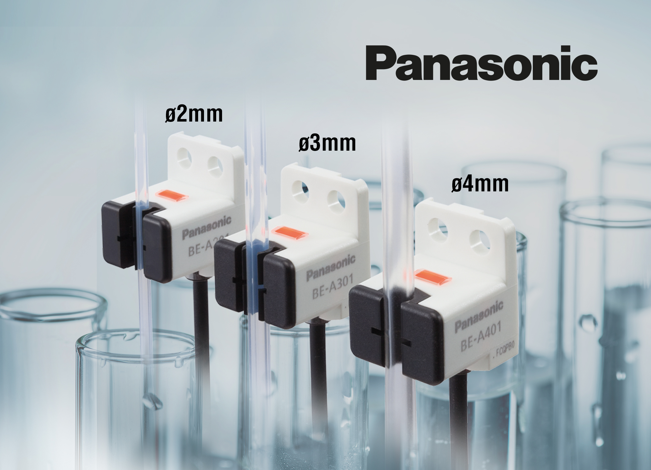 BE-A range of optical flow sensors from Panasonic