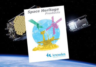 Knowles to exhibit range of Space Heritage products at Space Tech Expo