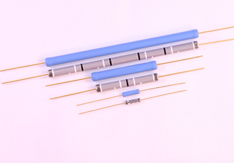 High voltage axial leaded resistors suitable for aerospace