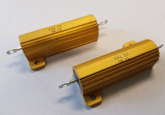 Aluminium housed wirewound resistors offer high power