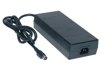 Medical grade desktop adapter features additional connector