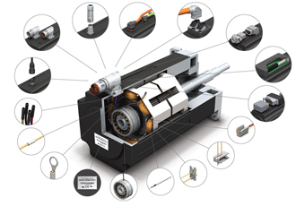 Micro motor connectors reduce installation times