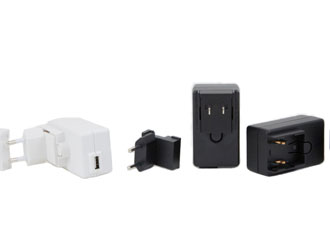 Wall mount USB power adapter meets Medical EMC standards