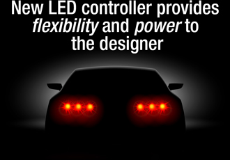 Automotive LED lighting controller provides greater flexibility