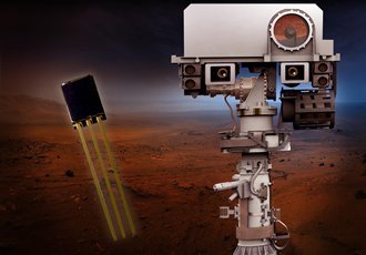 Hall-effect sensors used for Mars Rover robotic arm