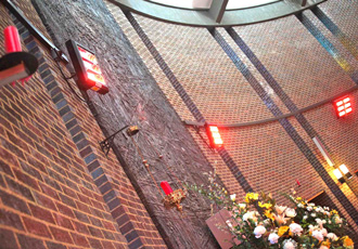 Infrared heaters save church 75% in energy costs
