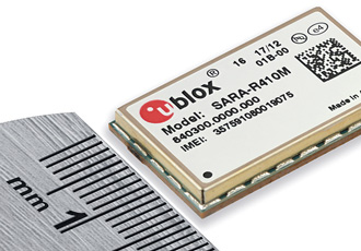 Quad-band LTE Cat M1 module suitable for IoT and M2M applications