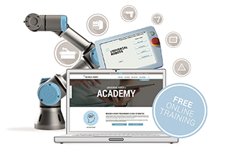 Training academy turns robots into cobots