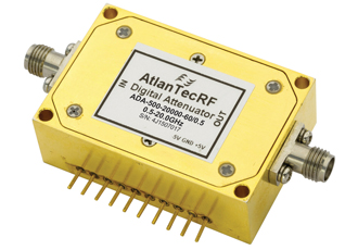 Ultra broadband digital attenuator can handle up to 25dBm