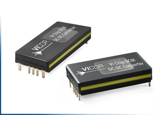 Vicor introduces two DCMs in a ChiP Package