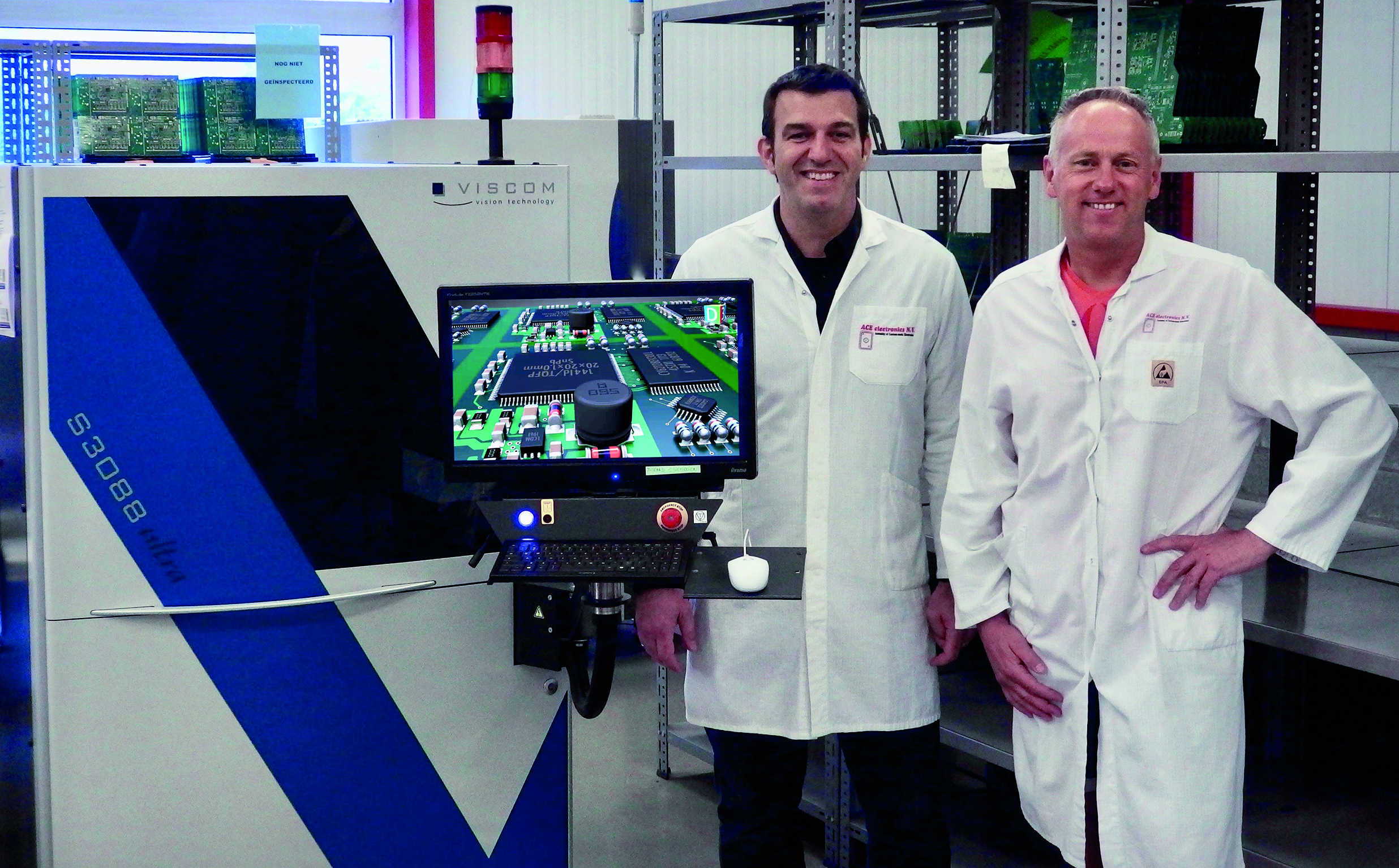 ACE electronics invests in high-quality 3D inspection