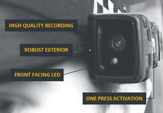 Body worn cameras for the agile workplace at Mobile World Congress