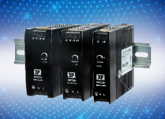 DIN rail power supplies target industrial applications