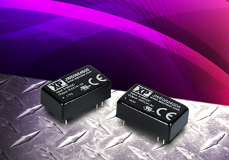 Wide input DC/DC converters offer 1,500VDC isolation