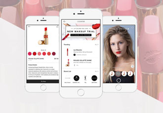 The search for the perfect lip shade is over thanks to AR technology