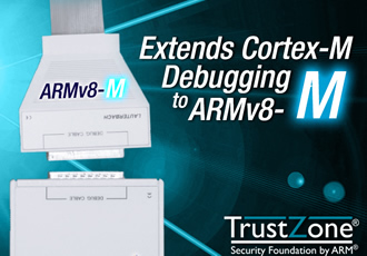 Debug tools now support cores of ARMv8-M family
