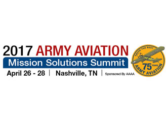 2017 Army Aviation Mission Solutions Summit features military materials