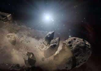 NASA and satellite company team up to explore asteroid