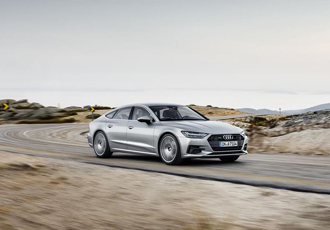 The sporty face of Audi in the luxury class