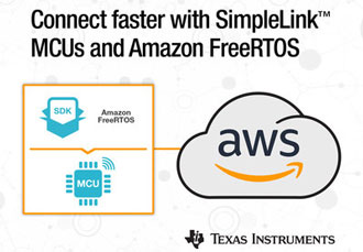 TI and Amazon enable end-to-end connections to the cloud
