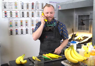 The Banana Phone: a handset with appeal