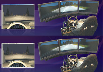 Software enables virtual simulation of adaptive headlights