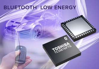 Bluetooth low energy IC suitable for automotive applications
